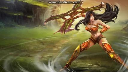league of legends sivir song