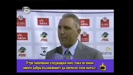 Господари на Ефира - Христо Стоичков Дава интервю на английски 30.11.2009г.