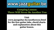 Jazz Guitar Chords There Will Never Be Ano