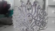 Тиара за коса с кристали- Queen of Absolute от Absoluterose.com