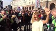 Ранобудните студенти - Пламен Орешарски подава оставка - 10.11.2013
