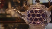 Изработка на съдове от фин японски кристал