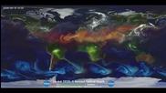 Атмосферната циркулация в света 08.2006-04.2007