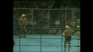Ric Flair vs Dusty Rhodes: Мач В Клетка 26.07.1986 - Част 1