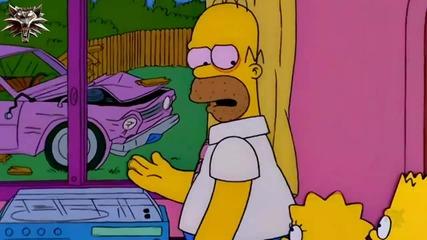 Семейство Симпсън С10 Е11 - Деца срещу възрасти бг аудио