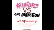 Mashup ! Katy Perry Vs One Direction - Friday Makes You Beautiful