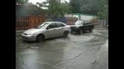 Паркиране на най-неподходящо място...