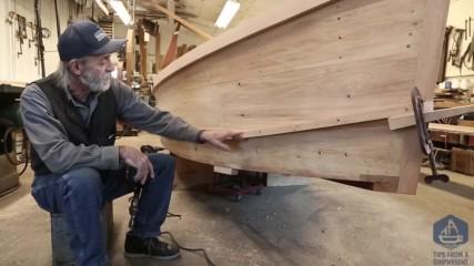 Изработване на дървена,плоскодънна лодка. Епизод- 24