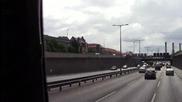 през Берлин по автобана