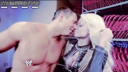 Miz And Maryse Kiss !!!