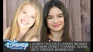 Best Friends Whenever led by Lauren Taylor and Landry Bender on Disney Channel