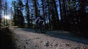 Довери се на спирачките по залез в Karwendel