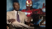 Don Cheadle on the fight scenes in Iron Man 2
