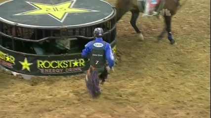 J.b. Mauney 91.5 points on Larry The Cable Guy's Git-r-done