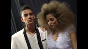 Нелина и Наско - зад кулисите на X Factor