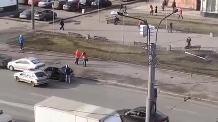 Теглене на Лада по руски