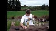 Опит за рекорд по пиене се обърква