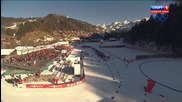 Biathlon Women's Relay Le Grand Bornand 2013.12.12 (1080p)