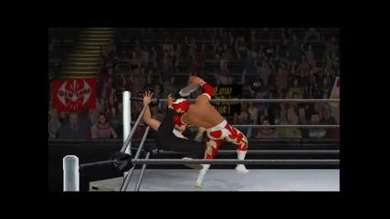 Wwe 13 Universe #2:на последният мач,микрофонът ми спря ;(