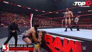 Top 10 Mejores Momentos de RAW: WWE Top 10, Jul 26, 2021