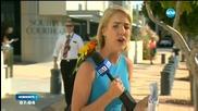 В ЕФИР: Папагал кацна на рамото на репортерка