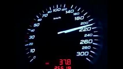Audi S8 Ускорение 0 - 275 km