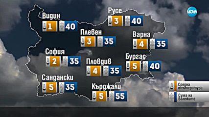 Прогноза за времето (31.01.2019 - сутрешна)