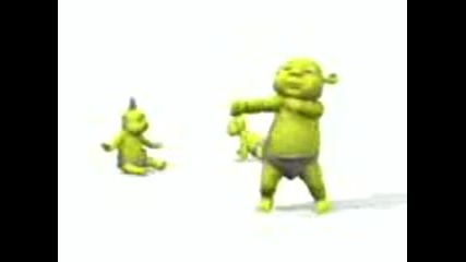 Babies Shrek Dance