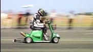 Най-бързият инвалиден скутер в света