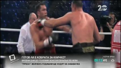 Готов ли е Кобрата за Кличко?