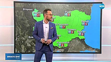 Прогноза за времето (21.01.2019 - централна емисия)