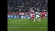 """""""Олимпиакос"""" победи с 2:0 """"Ираклис"""" и има пет точки преднина на върха"""