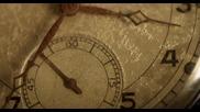 Стрелките на джобен часовник на забързан кадър