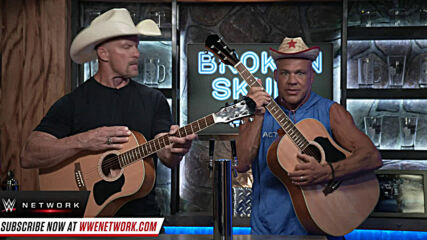 """Stone Cold"" Steve Austin and Kurt Angle reform their band: Broken Skull Sessions extra"