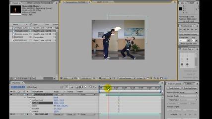 Adobe after effects - Огън бойни ефекти (bg Audio)
