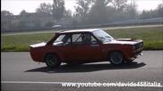 Sound Battle! Fiat Abarth 131 Rally vs Alfa Romeo Alfasud on track