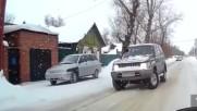 по руските пътища през януари !