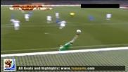 24.06.2010 Словакия - Италия 3:2 Гол на Фабио Куалиарела - Мондиал 2010 Юар