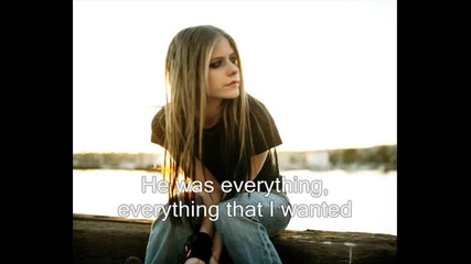 Avril Lavigne - My Happy Ending + Lyrics