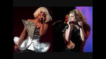 Lady Gaga vs Shakira 2011