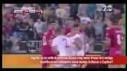 Ще има ли футболна война, след като играчите на Албания и Сърбия се сбиха на мача в Белград