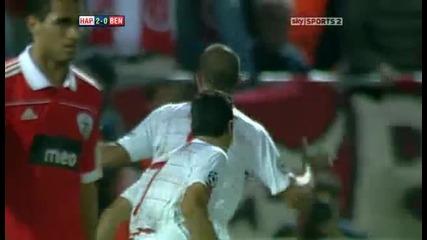 Hapoel Tel Aviv v Benfica Sky Highlights - football video 24.11.10