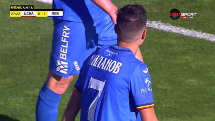 Георги Миланов прониза Бусато и даде аванс на Левски срещу ЦСКА