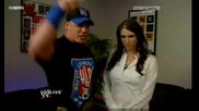 John Cena И Stephanie Mcmahon Backstage Бг субтитри