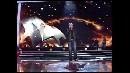 Goran Mladenović - Bože brani je od zla (Zvezde Granda 2011_2012 - Emisija 18 - 04.02.2012)