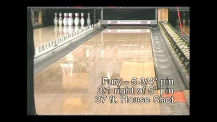 Brunswick - Fury (bowling Ball)