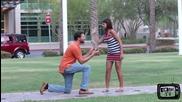 Предложение за брак - Шега
