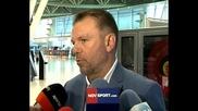 Какво обяви Стойчо Младенов преди заминаването на ЦСКА