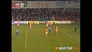 Отмененият гол на Левски при 1:0 за Литекс