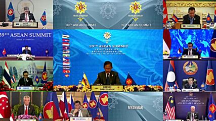 Brunei: ASEAN summit kicks off without Myanmar representative after coup chief excluded